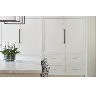 A thumbnail of the Amerock BP54024 Amerock-BP54024-Black Bronze on White Cabinets