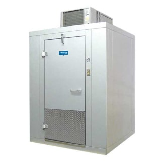 Blue Line 10'x10' Self Contained Walk-In Cooler- Left Hinge