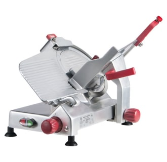 10 Economy Level Manual Gravity Feed Meat Slicer- 1/3 hp