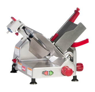12 Entry Level Gravity Feed Meat Slicer- 1/3 hp