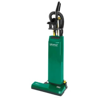 BGUPRO14T Dual Motor 14 Inch Commercial Upright Vacuum Cleaner with On-Board Tools