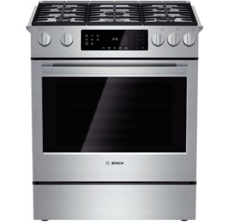 30 Inch 4.8 Cu. Ft. Gas Slide-In Range with Convection from the 800 Series