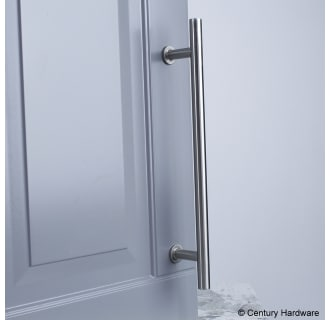 A thumbnail of the Century 10479A Century-10479A-Matte Satin Nickel installed