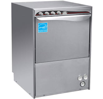 High-Temp Undercounter Dishwasher and Glasswasher