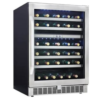 Silhouette Professional 51 Bottle 24 Built-In Dual Zone Wine Cooler