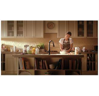 Delta 9113t Ar Dst Arctic Stainless Essa Pull Down Kitchen