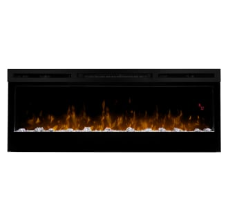50 Inch Wide 4,198 BTU 120 Volt Wall Mount Electric Fireplace with LED Flame Technology