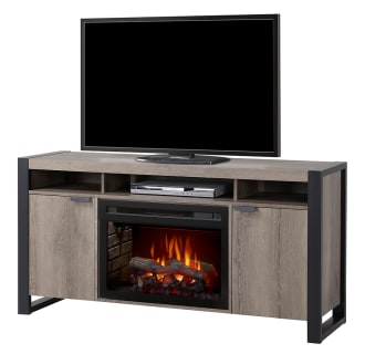 """Pierre Media Console with 25"""" Wide Electric Fireplace and Log Burner Assembly"""