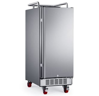 15 Inch Wide Outdoor Kegerator Conversion Refrigerator with Forced Air Refrigeration