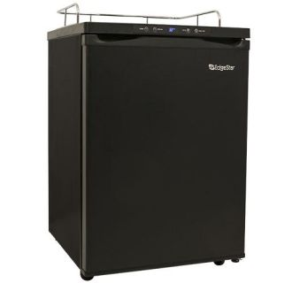 24 Inch Wide Kegerator Conversion Refrigerator for Full Size Kegs with Deep Chill Mode