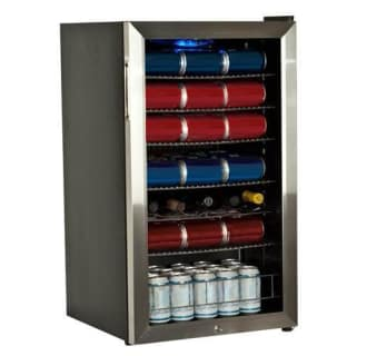 19 Inch Wide 103 Can and 5 Bottle Beverage Cooler with Ultra Low Temp Cooling