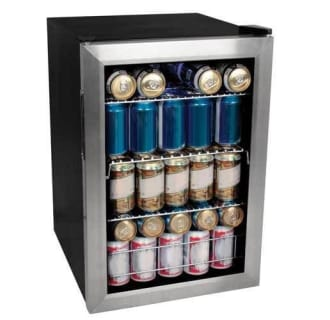 17 Inch Wide 84 Can Beverage Cooler with Extreme Cool