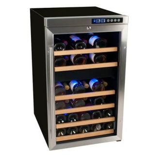 Scratch and Dent 19 Inch Wide 34 Bottle Wine Cooler