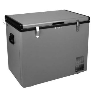 28 Inch Wide 2.8 Cu. Ft. Portable Fridge/Freezer with 12V DC Power Capability