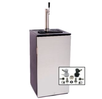 18 Inch Wide Kegerator with Home Brew Coupler
