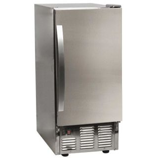 15 Inch Wide 25 Lbs. Capacity Built-In Ice Maker with 50 Lbs. Daily Ice Production