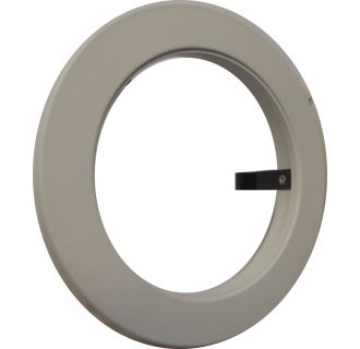 White *NEW* ELCO OM4W 4 Inch Oversized Metal Trim Ring