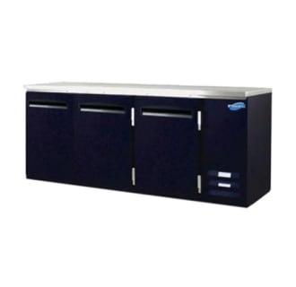 26 cu. ft. Solid Three Door Back Bar Cooler
