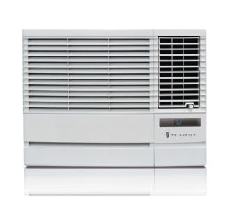 18000 BTU 208/230V Window or Through Wall Air Conditioner with 12000 BTU Heater, Remote Control, and Wall Sleeve Included