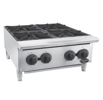 24 Chefmate Commercial Gas Hot Plate with 4 Burners