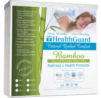 Quilted Bamboo Twin XL Mattress Protector