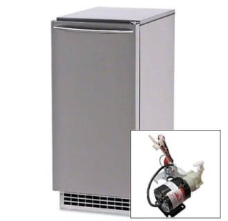 85 lb. Nugget Ice Machine and Pump Kit