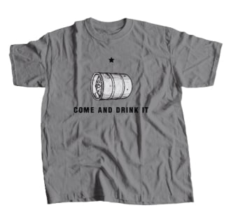 Come and Drink It T-Shirt - Dark Heather
