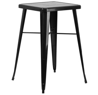 23-3/4 Inch Square Metal Bar Table