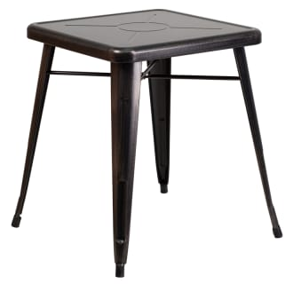 23-3/4 Inch Square Metal Table