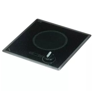 6.5-Inch Knob Controlled UL Listed Cooktop with Indicator Light and 1200 Watts
