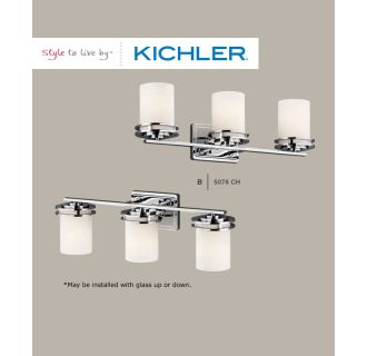 Kichler 5078ni Brushed Nickel Hendrik 3 Light 24 Quot Wide