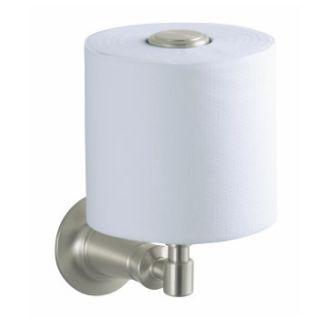 kohler k 11056 bn brushed nickel archer vertical toilet paper holder. Black Bedroom Furniture Sets. Home Design Ideas