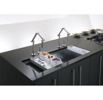 Kohler K 3761 Na Stainless Steel Stages 45 Quot Single Basin