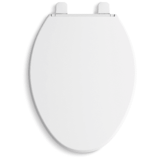 Kohler K 20110 0 White Brevia Elongated Quiet Close Toilet