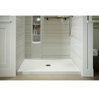 Kohler K 8461 0 White Rely 34 Quot X 48 Quot Shower Base With