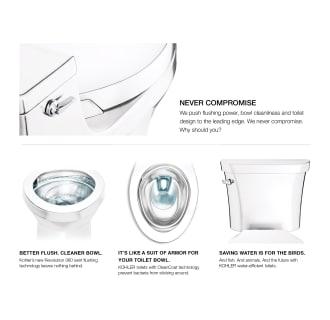 Kohler K 3814 0 White Corbelle 1 28 Gpf Comfort Height Two