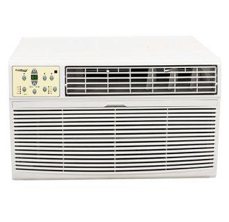 18,500 BTU 220V Window Air Conditioner with 16,000 BTU Heater with Remote Control