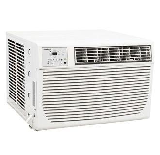 8000 BTU 115V Window Air Conditioner with 3500 BTU Heater and Remote Control