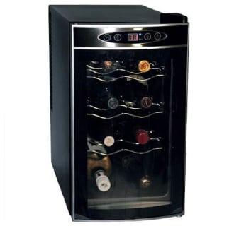 8 Bottle Free Standing Single Zone Wine Cooler