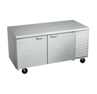67 Refrigerated Two Door Work Table