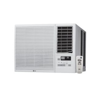 7500 BTU 115V Window Air Conditioner with 3850 BTU Electric Heater and Remote Control