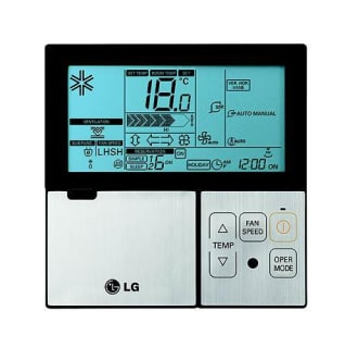 Wired Wall Thermostat for Single Zone Mini-Splits