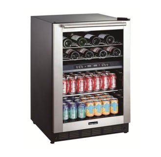 24 Built-In Dual Zone Wine and Beverage Cooler