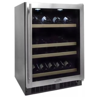 "24"" Built-In Gallery Single Zone Wine Cellar-Right Hinge"