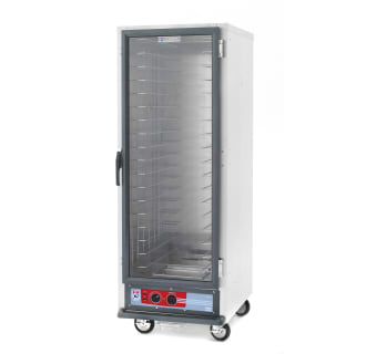 Full-Height Heated Holding Cabinet with Universal Slides