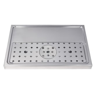 23 5/8 Stainless Steel Glass Rinser Drip Tray