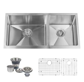 Double Bowl Kitchen Sinks on
