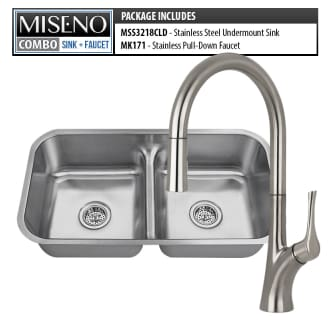 Kitchen Sink and Faucet Combos at Faucet.com on bathroom sink faucet, undermount sinks with cabinet and kitchen, chrome stainless steel sink with faucet, undermount farm sink installation, undermount farmhouse sink,