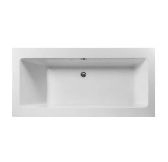 Miseno MNO7035FSR White 70 Rectangular Free Standing Bathtub With Center Drain
