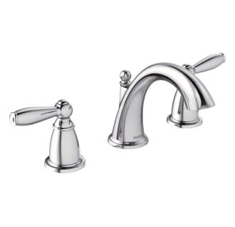 Moen T6620 Chrome Brantford 1 2 Gpm Widespread Bathroom Faucet Less